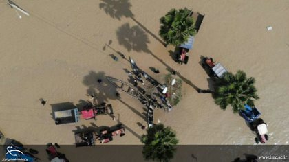Remote sensing technology to estimate flood damage to agriculture in Golestan